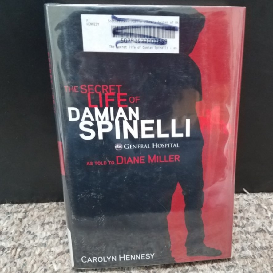 The Secret Life of Damian Spinelli as told to Diane Miller by Carolyn Hennesy