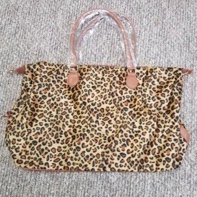 Leopard Print Weekender