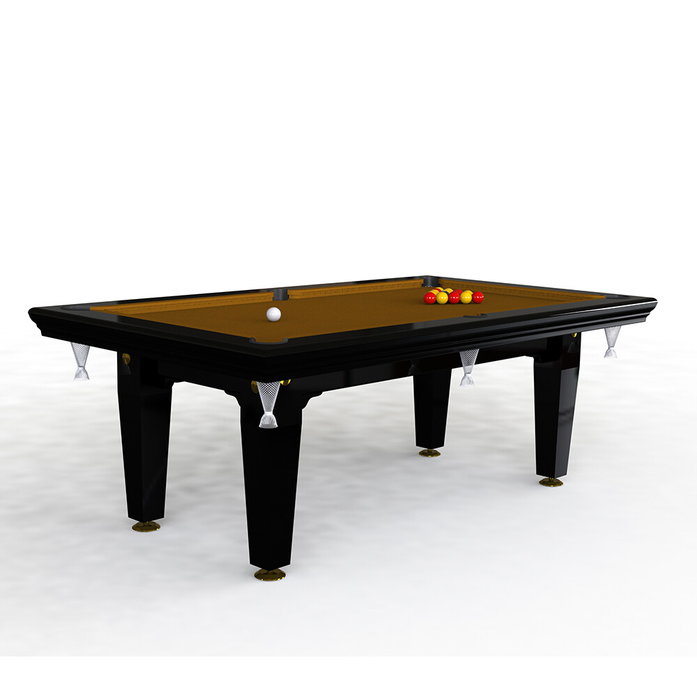 Riley Grand Slate Pool Diner - 7ft English Pool - Solid Wood - Hand Made in Great Britain