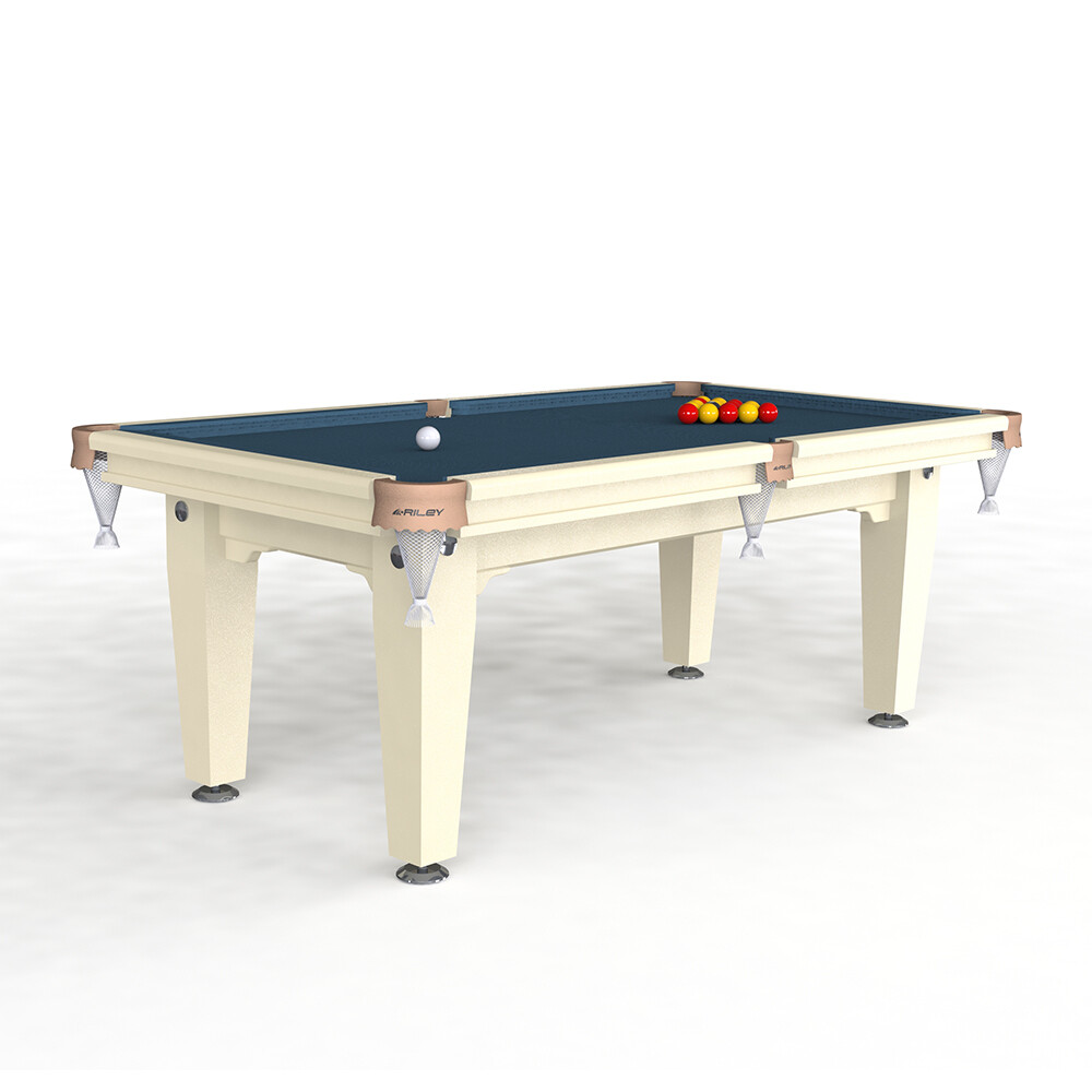 Riley Grand Slate Pool Table - 7ft English Pool - Solid Wood - Hand Made in Great Britain