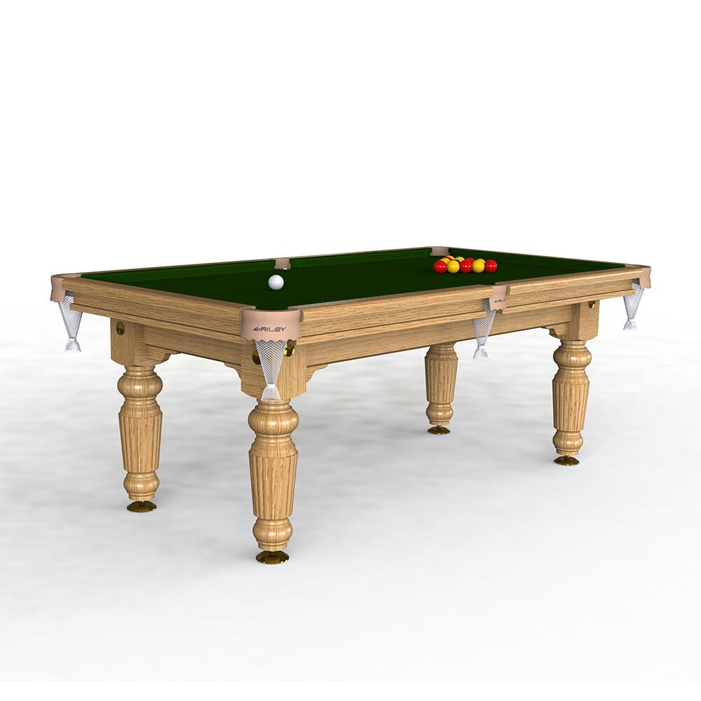 Riley Renaissance Slate Pool Table - 7ft English Pool - Solid Wood - Hand Made