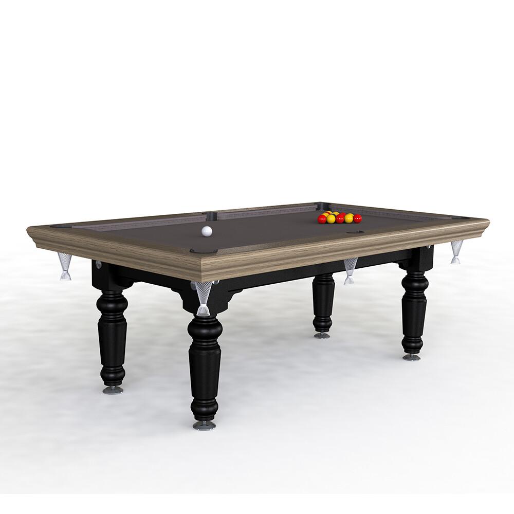 Riley Traditional Slate Pool Diner - 7ft English Pool - Solid Wood- Hand Made