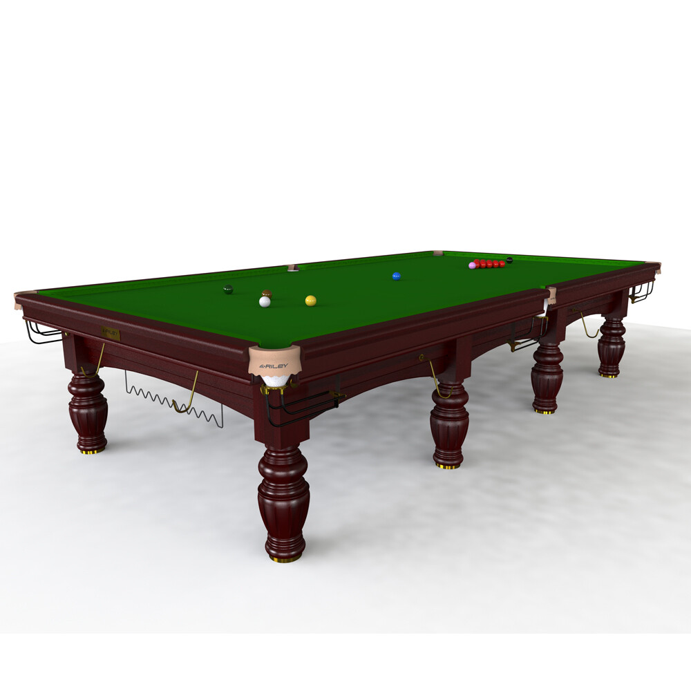 Riley Aristocrat Slate Snooker Table - - 8ft, 9ft, 10ft or 12ft  - Solid Wood - Hand Made