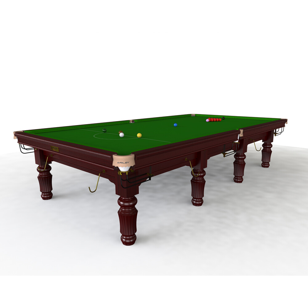 Riley Renaissance Slate Snooker Table - 8ft, 9ft, 10ft or 12ft - Solid Wood - Hand Made