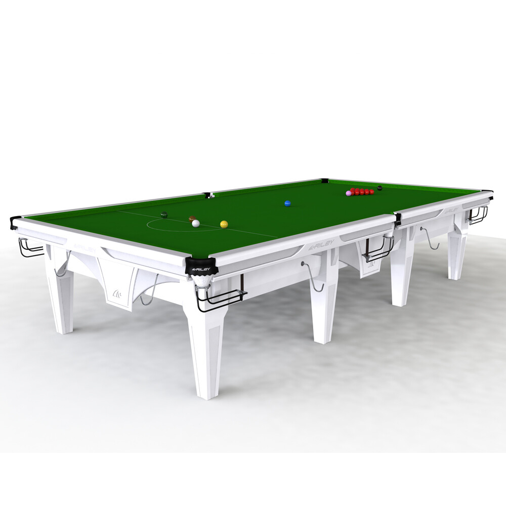 Riley Ray Slate Snooker Table - 8ft, 9ft, 10ft or 12ft - Solid Wood - Hand Made