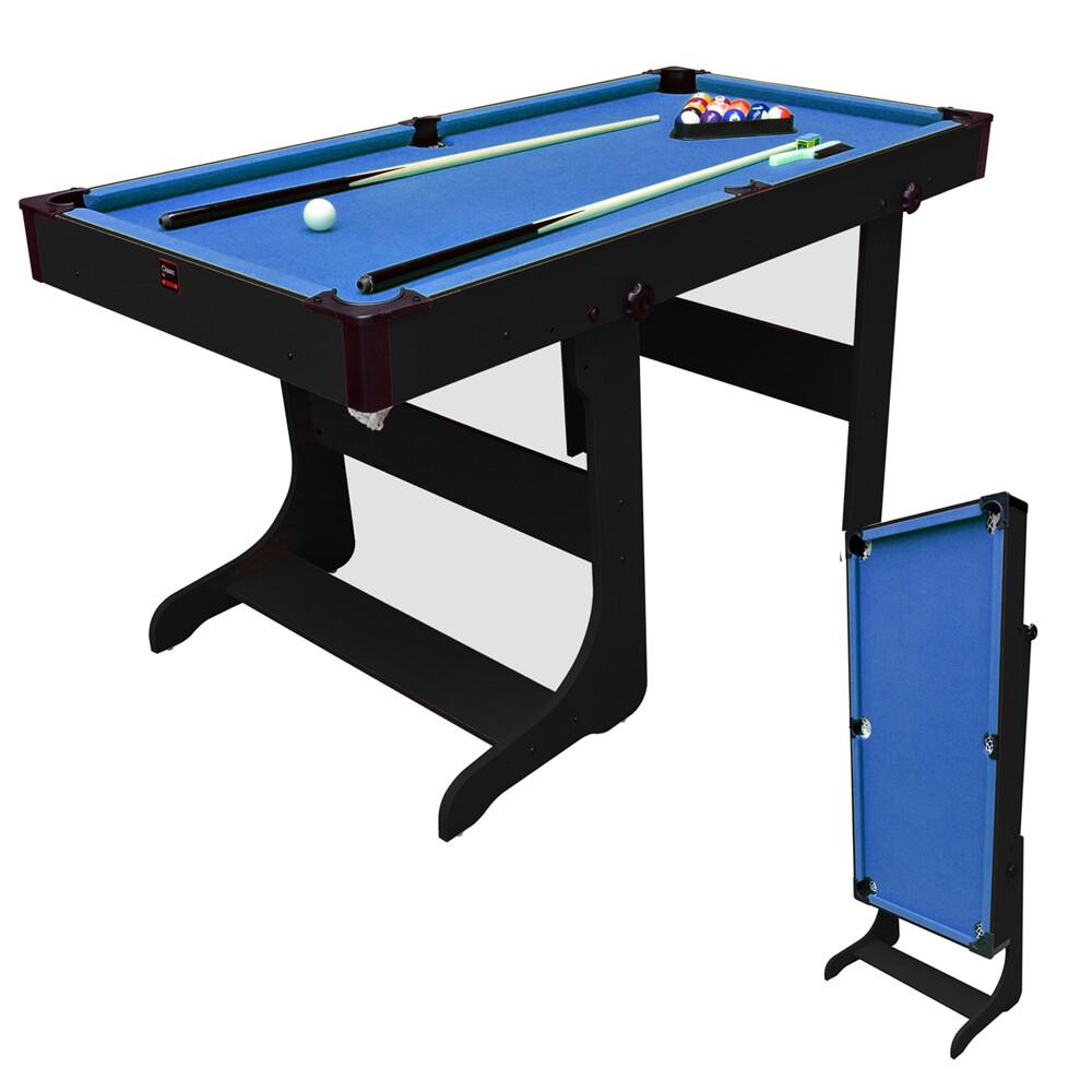 BCE 5Ft Vertical Folding Pool Table