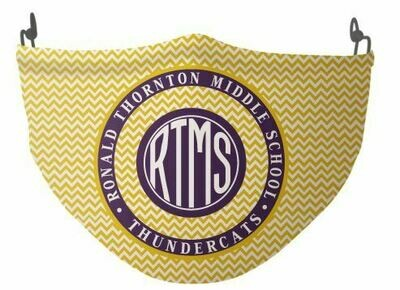 RTMS Yellow Design Mask (Adult Size)