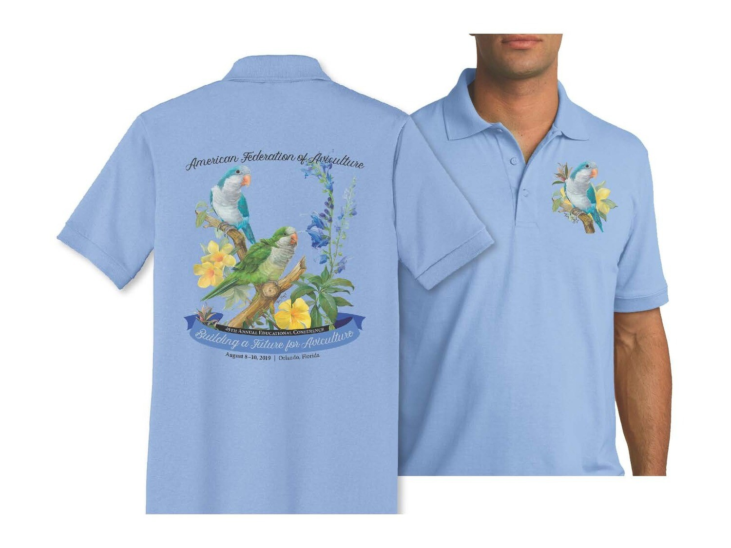 Quaker Parrot - Polo Shirt