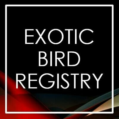 Exotic Bird Registry