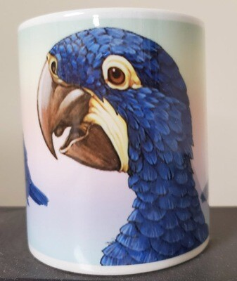 Hyacinth Macaw  - Ceramic Mug