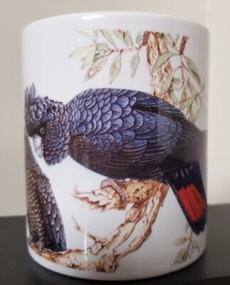 Red-tailed Black Cockatoo  - Ceramic Mug
