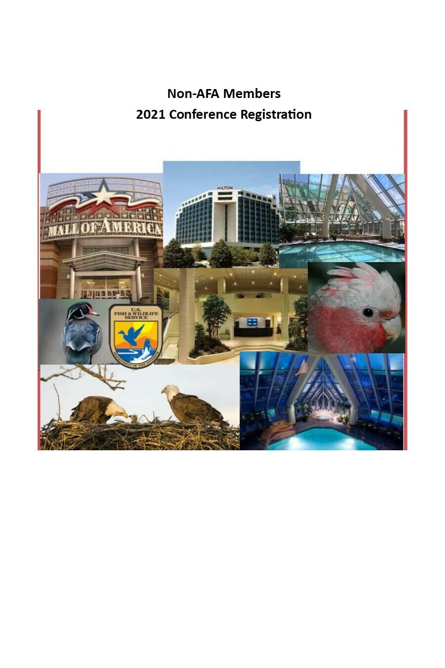 Non-AFA Members:  3 Day Full Conference Registration & Membership