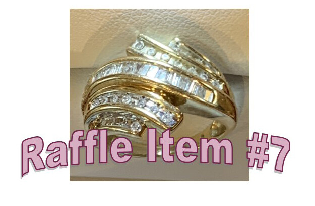 Super 8 Raffle Ticket Prize #7 Lady's Diamond Ring