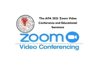 AFA 2021 ZOOM RECORDINGS from our 2021 Educational Conference