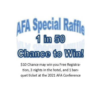 Special $10 Conference Raffle