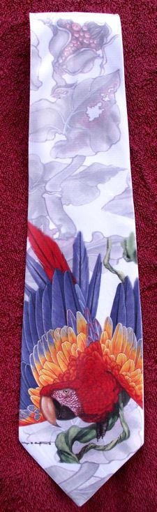 Scarlet Macaws - Neckties