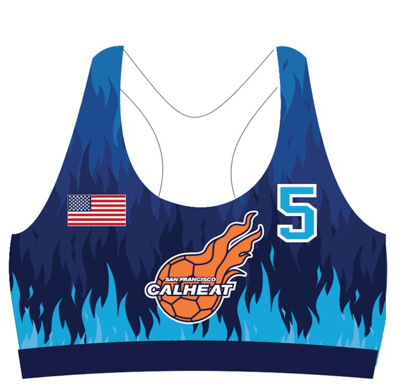 San Francisco CalHeat Sports Bra Uniform Top