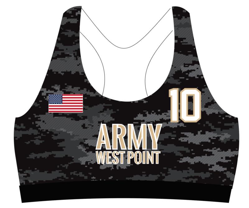 West Point Sports Bra Uniform Top