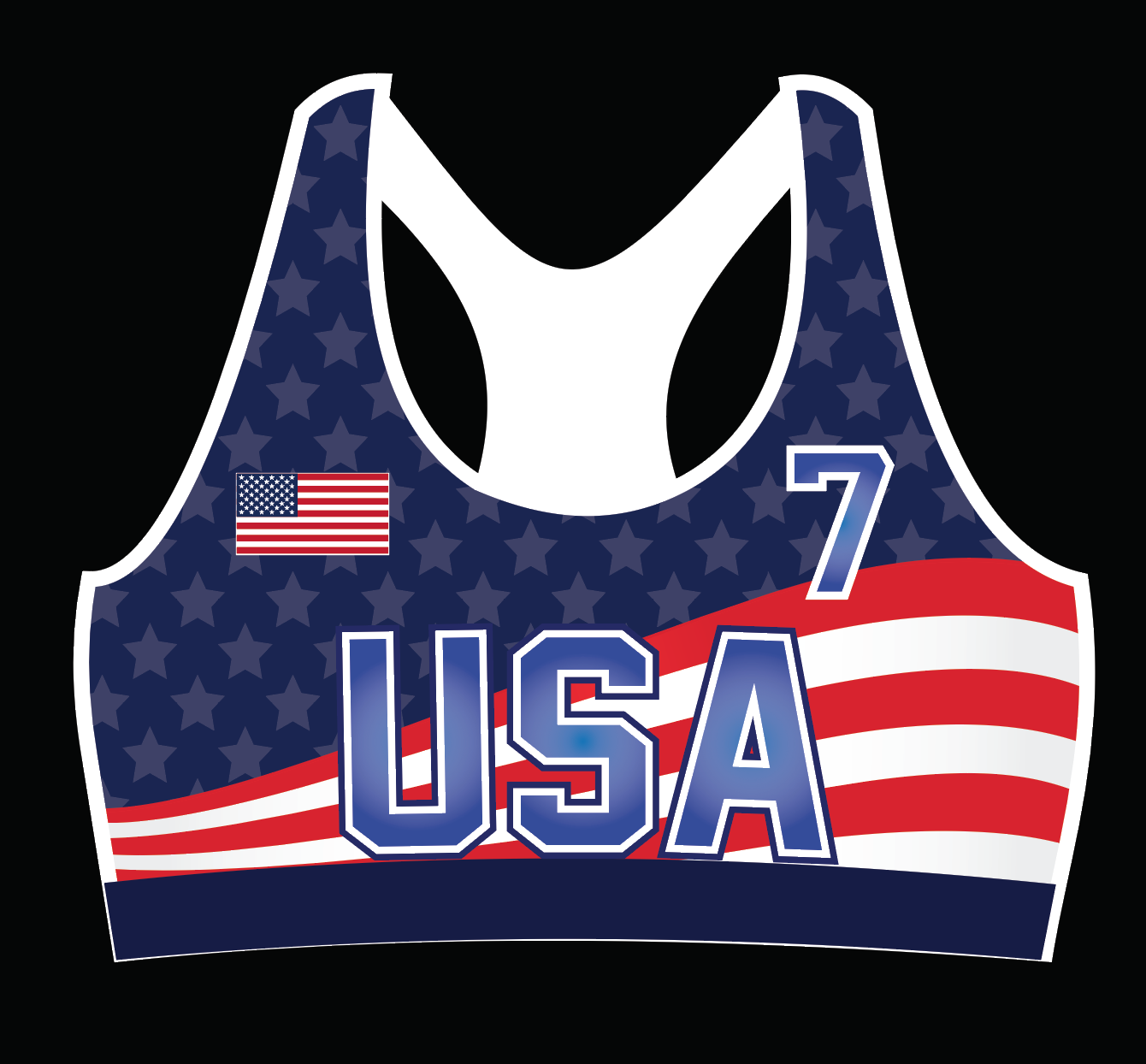 """The Patriot"" USA Bra"