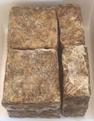 (1 Dozen) RAW AFRICAN BLACK SOAP BARS