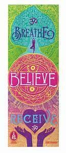 Breathe Receive --Spiritual Revolution Yoga Mat