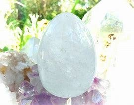 Crystal Quartz Yoni Egg Gemstone
