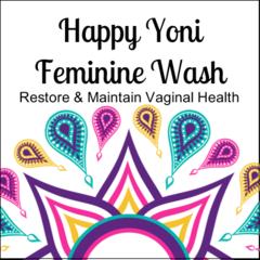 HAPPY YONI FEMININE WASH 8 oz