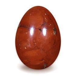 Red Jasper Yoni Egg