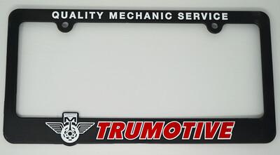 Trumotive License Plate Frame