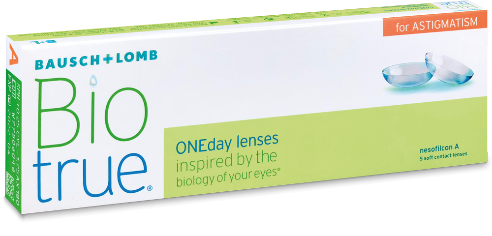 Biotrue ONEday for Astigmatism Contact Lenses