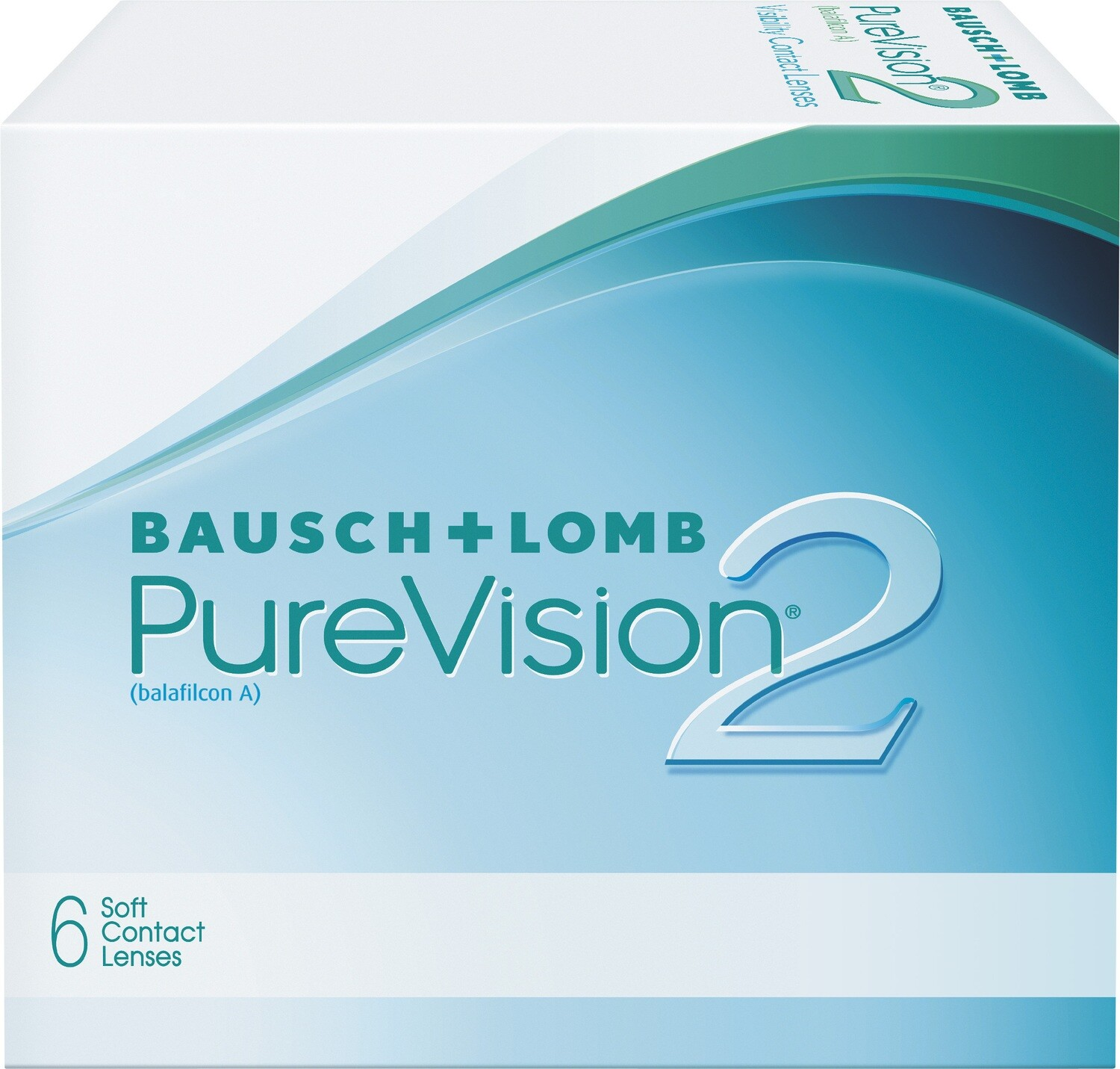 Pure Vision 2HD Contact Lenses- 6 pack