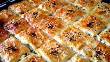 Börek Peynirli (Hazır Yufkadan)