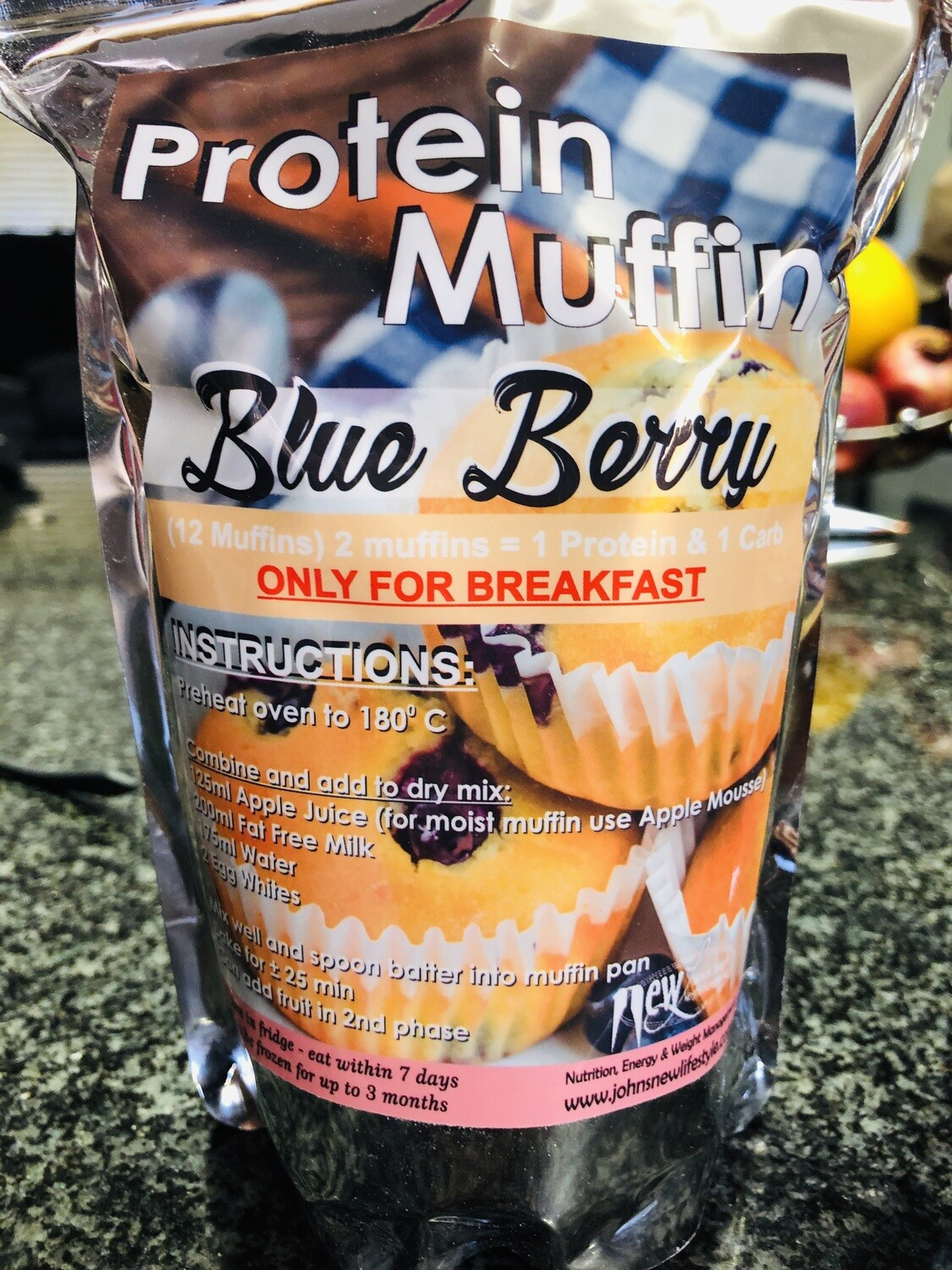 Blueberry Dry Muffin Mix