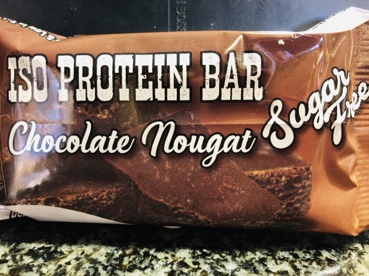 Chocolate Nougat Protein Bars