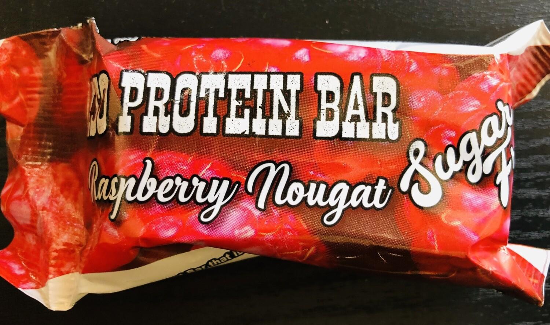 Raspberry Nougat Protein Bars