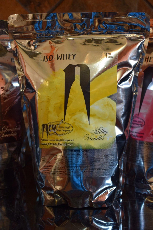 Iso-Whey Protein Milky Vanilla