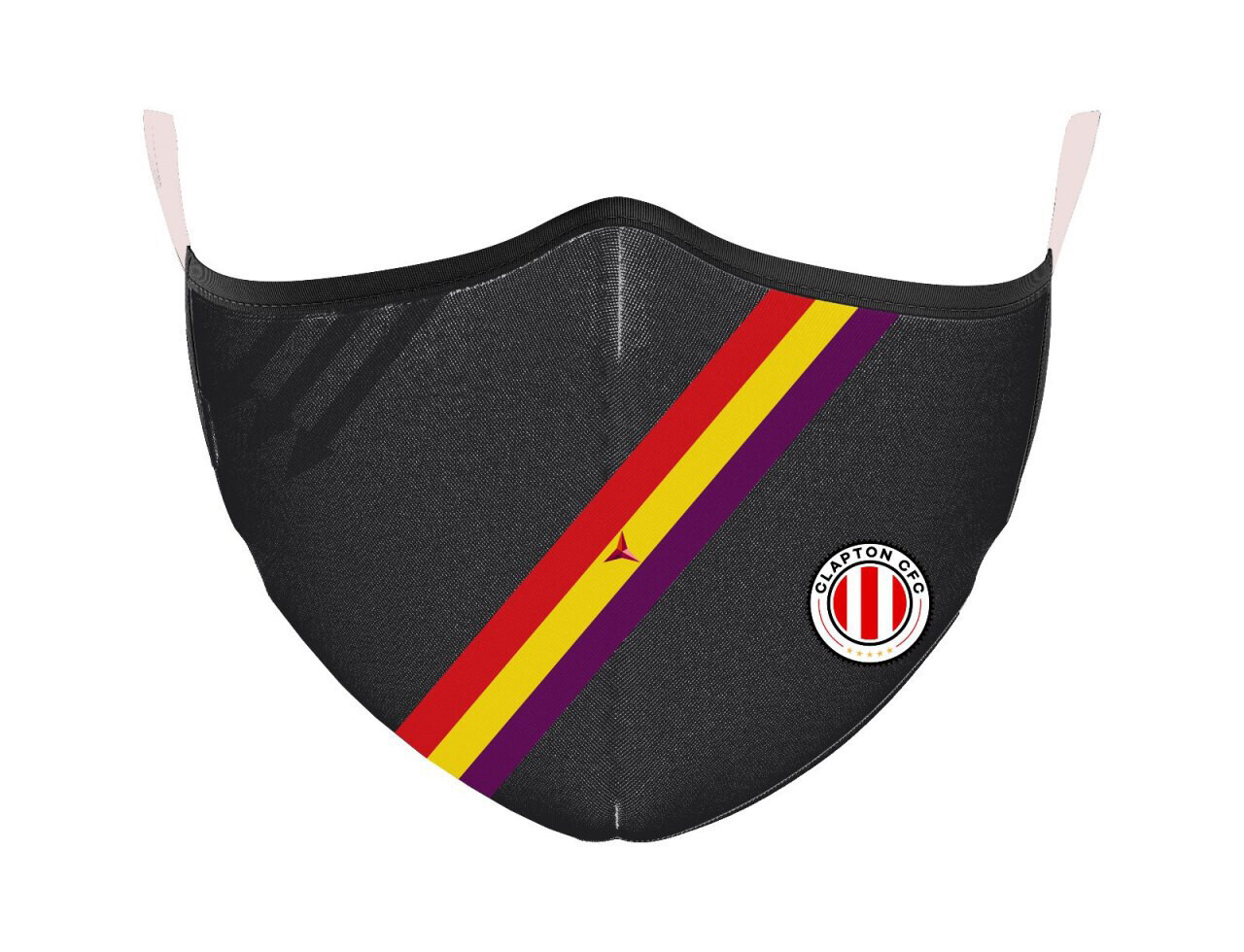 Face Mask - Black with Away Stripes