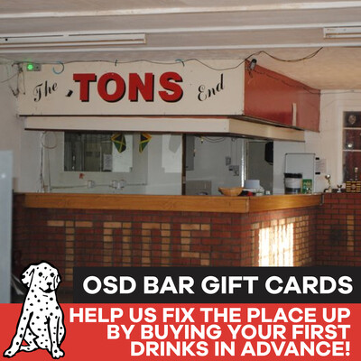 Gift Card - Tons Bar at the OSD