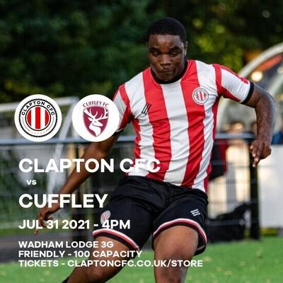 Match Reservation: CCFC v Cuffley - 31/07/21