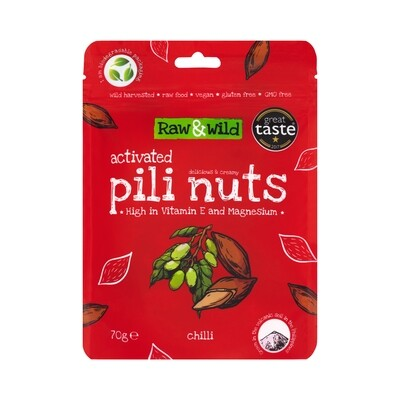 Activated Chilli Pili Nuts - 70g