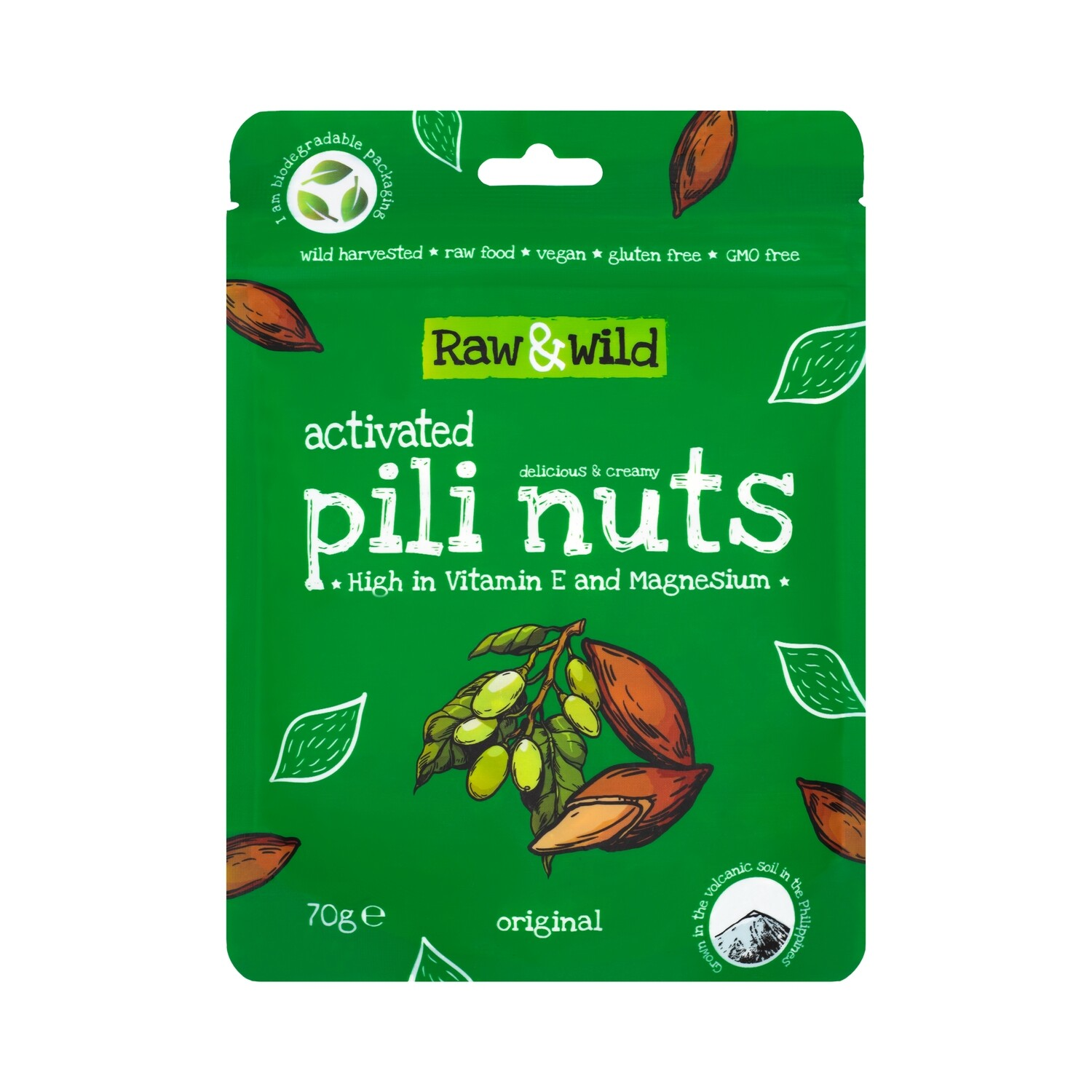 Activated Original Pili Nuts - 70g
