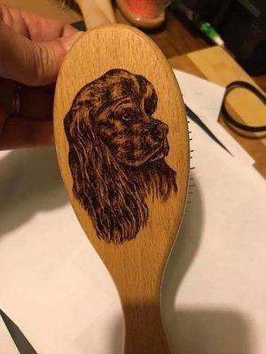 Wooden Pin Brush