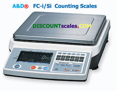 A&D Weighing® FC-5000i Counting Scale    (5000g. x 0.5g.)