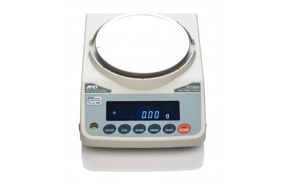 A&D Weighing® FX-5000i Balance   (5200g. x 0.01g.)
