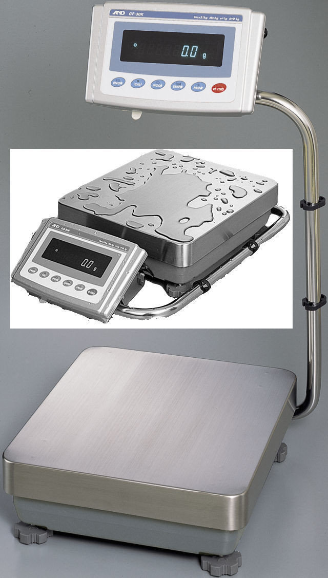 A&D Weighing® GP-60K Industrial Balance  (61kg. x 1.0g.)
