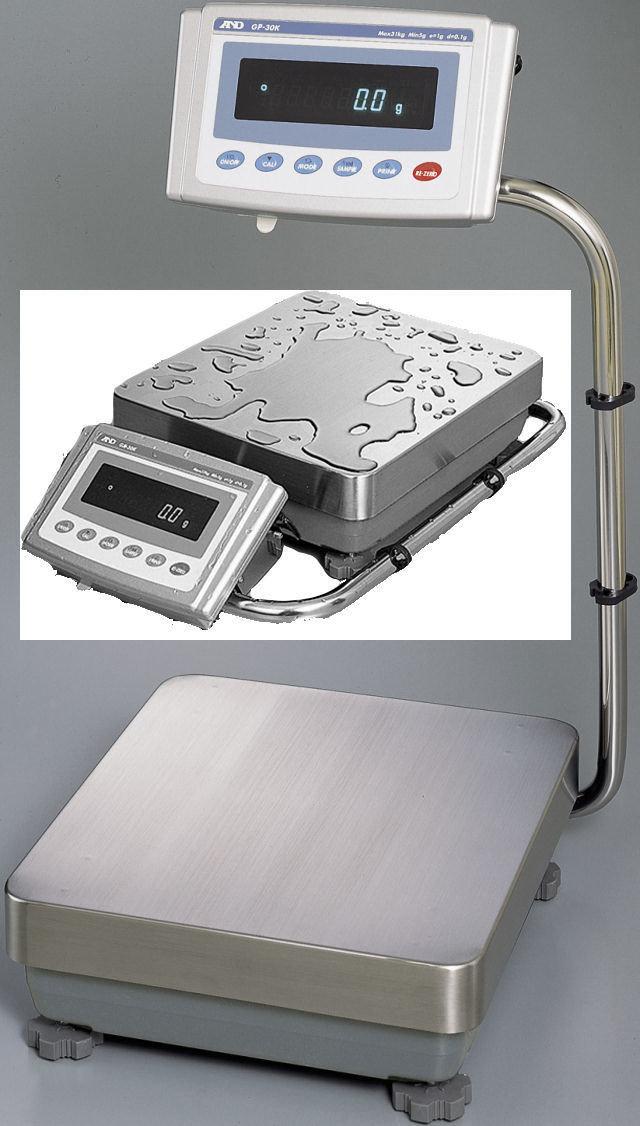 A&D Weighing® GP-61K Industrial Balance   (61kg. x 0.1g.)