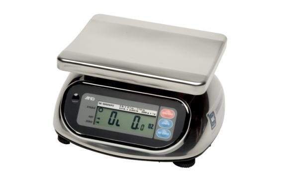 A&D Weighing® SK-5000WP Food Scale      (5000g. x 2.0g.)