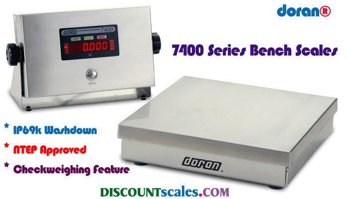 Doran® 74100/12 Bench Scale  (100 lb. x 0.02 lb.)