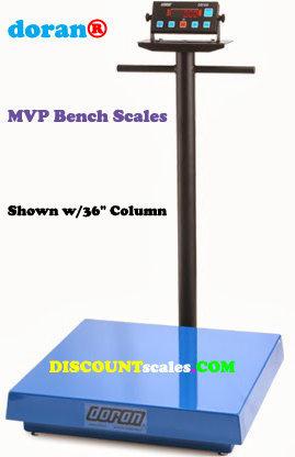Doran® MVP5250-36 Bench Scale  (250 lb. x 0.05 lb.)