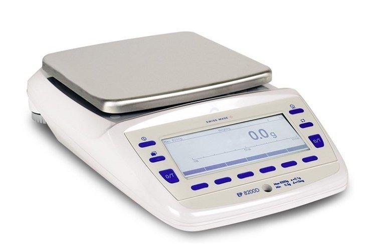 Intelligent Weighing® Precisa EP 8200D SCS Balance  (8200g. x 0.1g.)